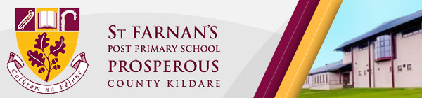 St Farnan's Post Primary School, Prosperous County Kildare